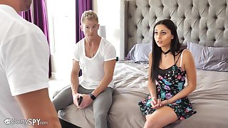hot sexy nanny Ariana Marie hard porn video