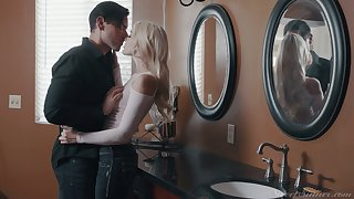 Killing hot blond babe Kenna James is making love with her handsome boyfriend