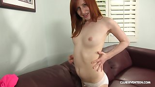 Redhead Kira Lake adores fat and black penis in her mouth and cunt
