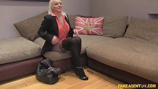 Tara Spades wearing blacknylon to make a stranger hornier than ever