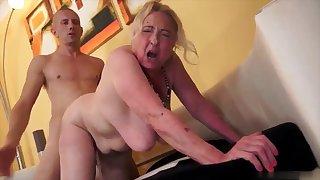 Five Horny Grannies in 5 Scenes