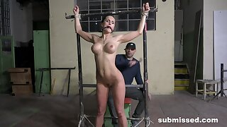 Barbara loves being tied up and tortured by her dominant lover