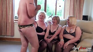 AgedLovE Group of Matures Fucked Hard