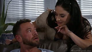 Bodacious treasured Sheena Ryder goes lascivious heavens hard penis with the addition of gets doggy fucked