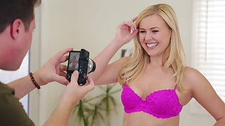 Blonde cutie Summer Day loves a hard shaft in than anything under other circumstances