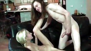 Hippie stepbro fucks his sister