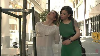 Slim cutie Valentina Bianco moans while bouncing on a big stiff dick