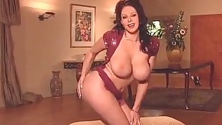Hot Goddess Strips (short clip)